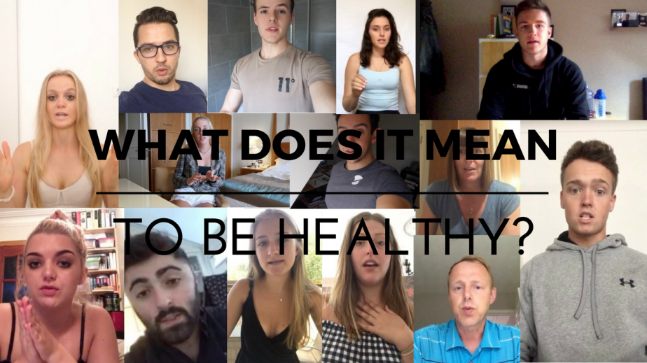 """What Does It Mean To Be Healthy?"""